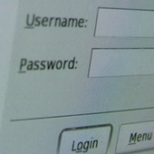 username password security online