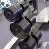 gym fitness weight barbell