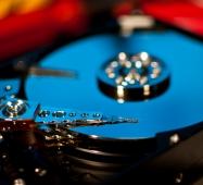 hard disk storage data