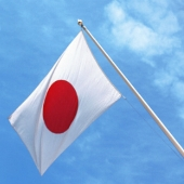 Japanese flag pole