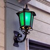 green energy power electric light lantern