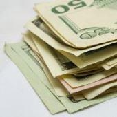 dollars pile money