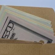 dollar envelope money
