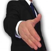 handshake hire