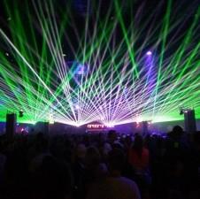 event gig show laser