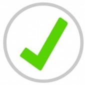 green tick yes correct approved