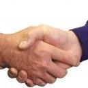handshake crop