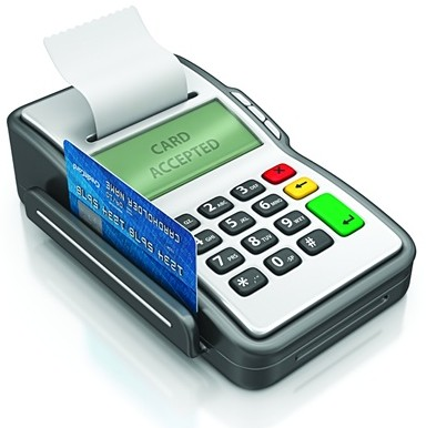 debit credit card machine payment