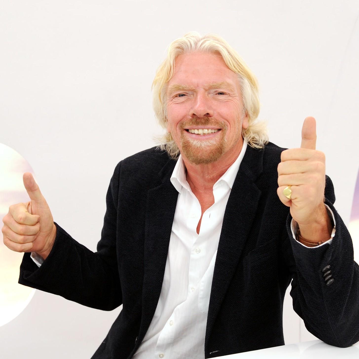 Sir Richard Branson: Richard Branson Teams With Venrock, Shasta For $21m