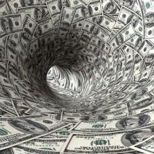 money funnel tunnel dollars