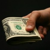 hand money dollars